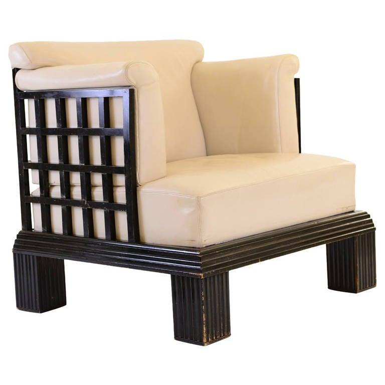 important throne for the werkbund exhibition cologne 1914 at 1stdibs. Black Bedroom Furniture Sets. Home Design Ideas