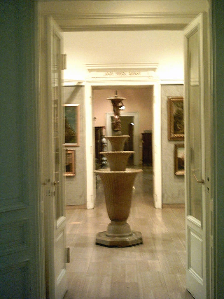 Unique Ceramic Fountain by Otto Prutscher and Michael Powolny 1914-1917 Original 3