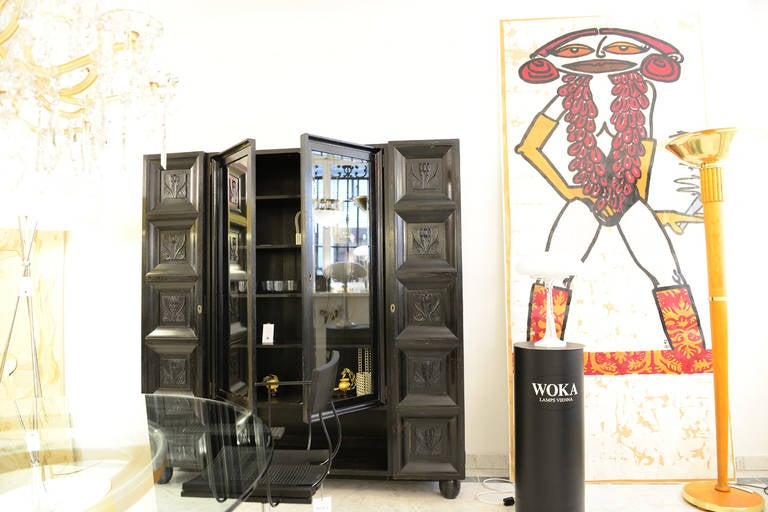 Bookcase/Cabinet Original of the Wiener Werkstätte (signed)- Koloman Moser, 1904 For Sale 1