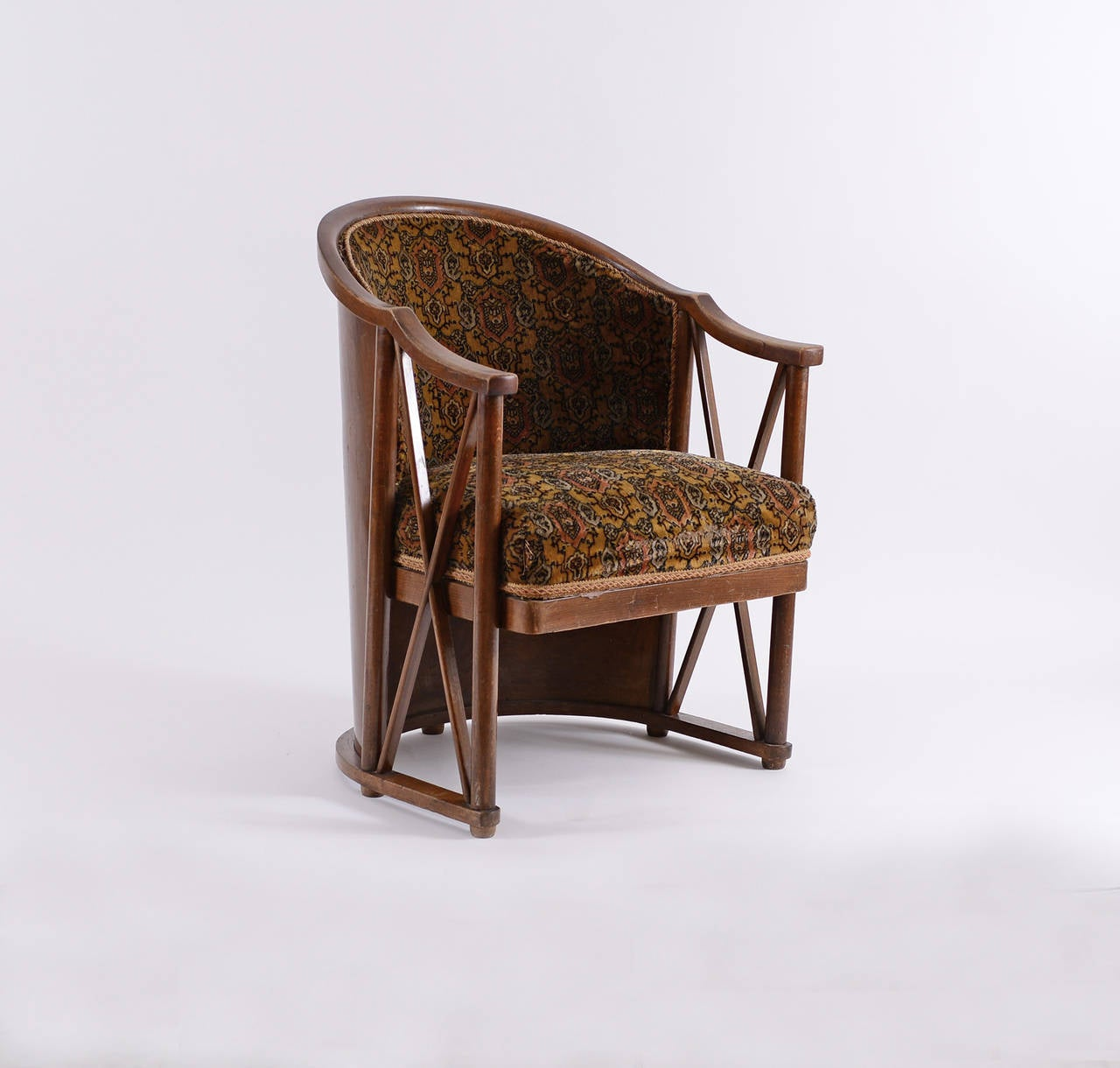 Extremely Rare Armchair by Josef Hoffmann for Kohn 5