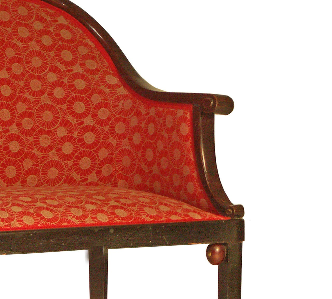 Austrian Original Josef Hoffmann Jugendstil early 20th Century Bench/Settee For Sale