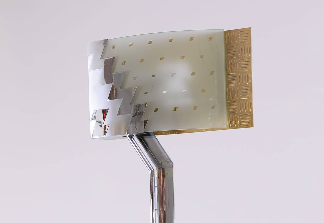 Post Modern Lamp by Hans Hollein For Sale 1