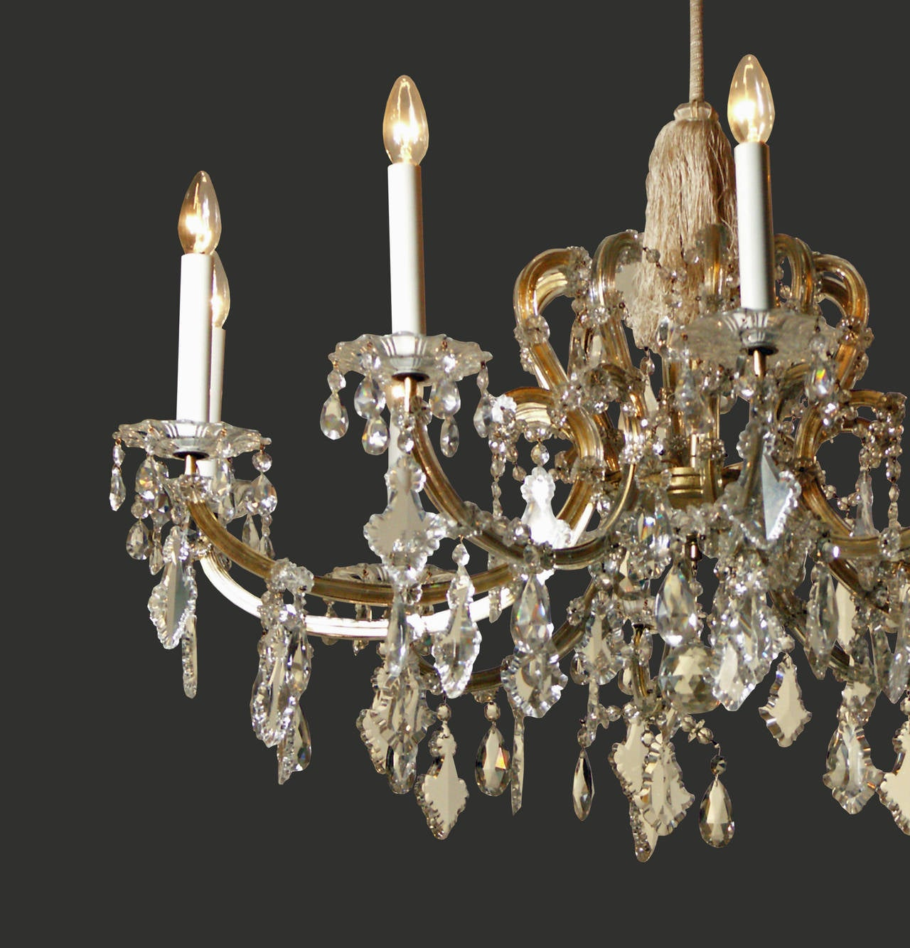Lobmeyr viennese maria theresa chandelier for sale at 1stdibs lobmeyr viennese maria theresa chandelier 3 arubaitofo Choice Image