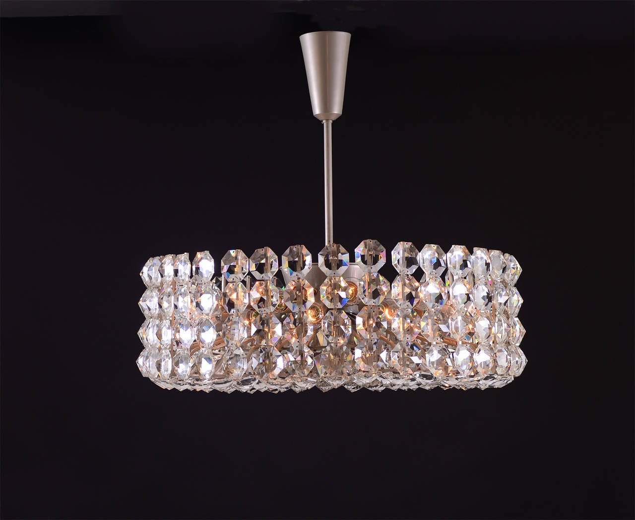 Austrian Very Large Bakalowits Chandelier from the 1960 For Sale