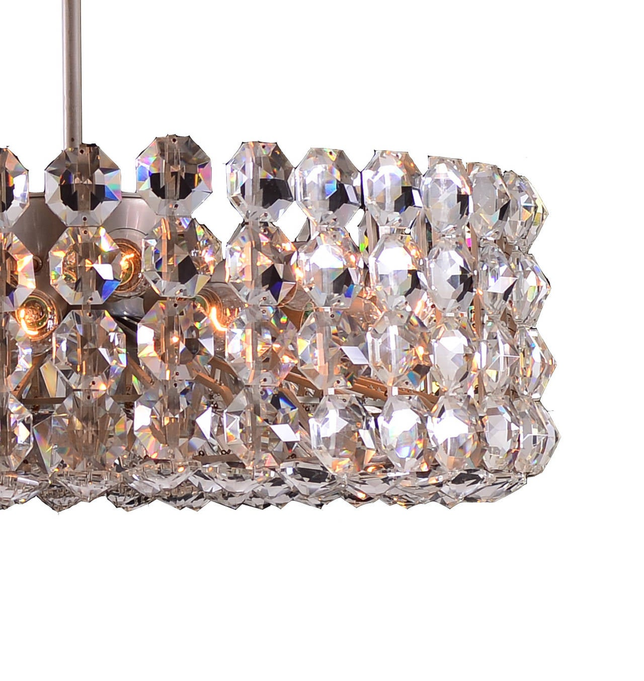 Very Large Bakalowits Chandelier from the 1960 In Excellent Condition For Sale In Vienna, AT