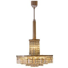 Very Elegant Bakalowits Chandelier from the 1960s