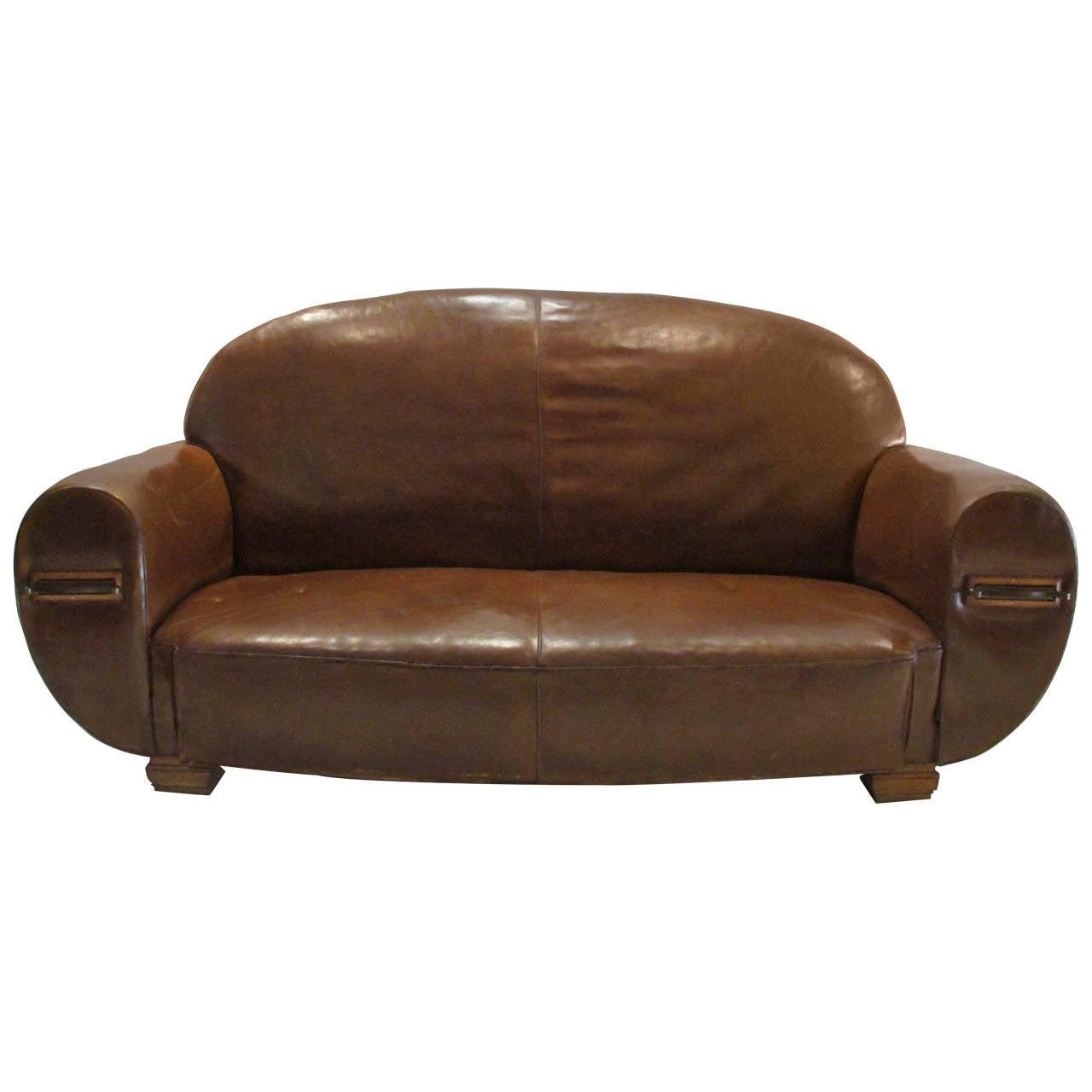 Art deco sofa at 1stdibs for Art deco era dates