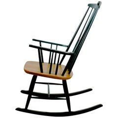 Austrian 50s Rocking Chair Roland Rainer attr.