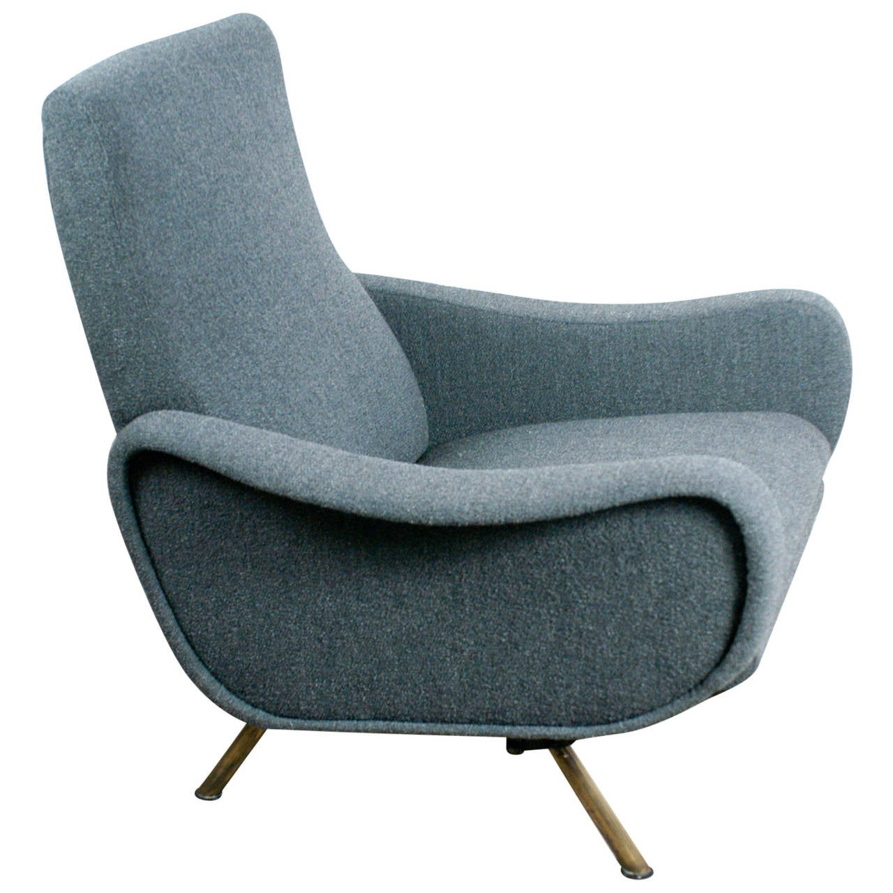 Lady chair with reclinig function by marco zanuso at 1stdibs for Function chairs