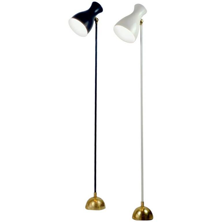 Two german 1950s schulz floor lamps at 1stdibs for German floor lamps