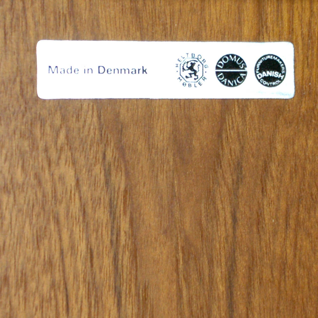 Danish Modern Teak Dry Bar by Heltborg Mobler For Sale 2