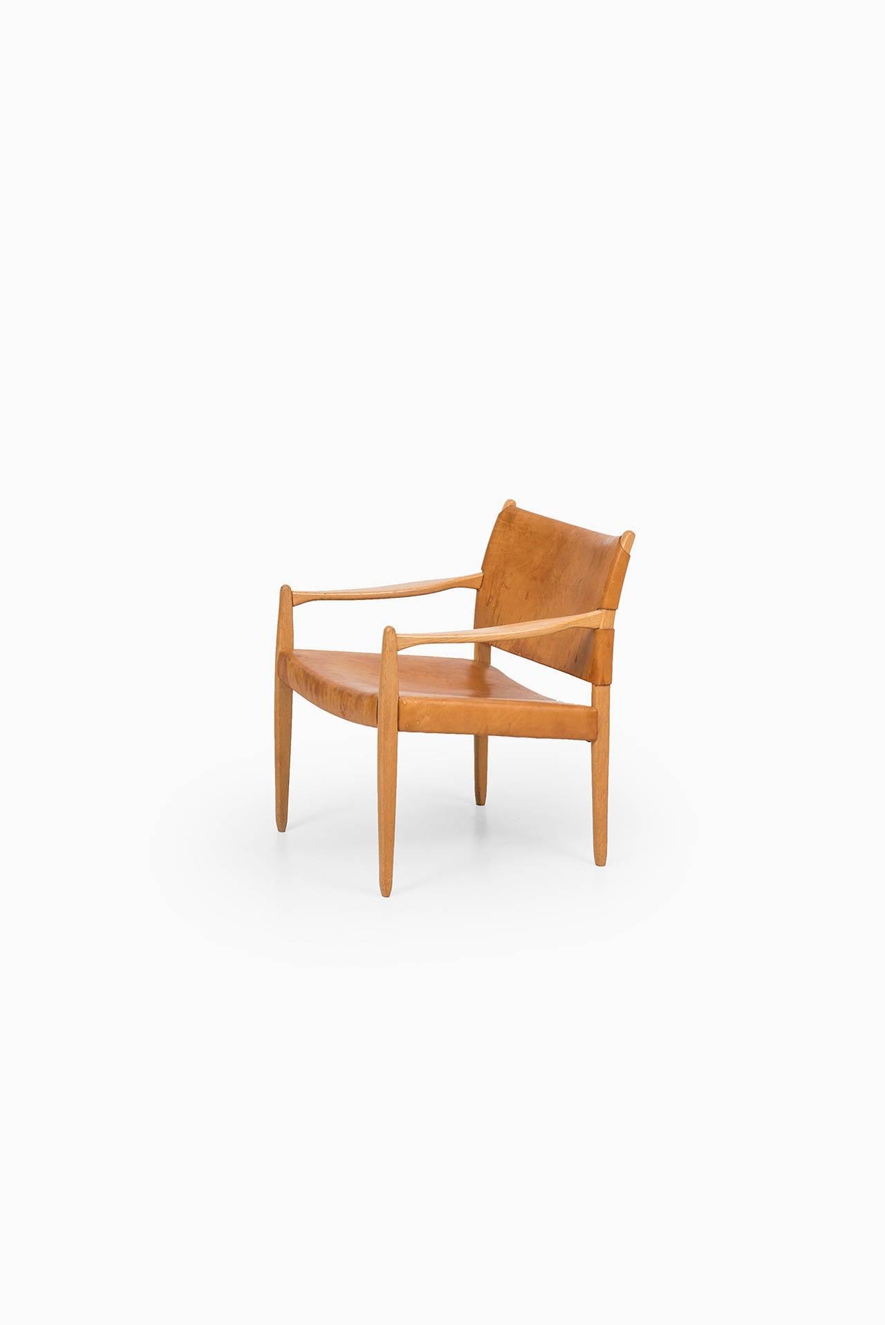 Swedish Per-Olof Scotte easy chairs model Premiär produced in Sweden