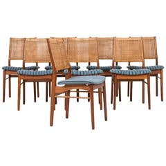 Helge Sibast dining chairs model OS 2 by Sibast in Denmark