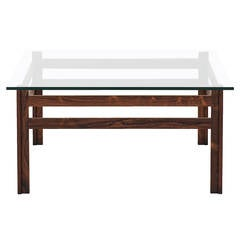 mid-century coffee table with white laminate top for sale at 1stdibs