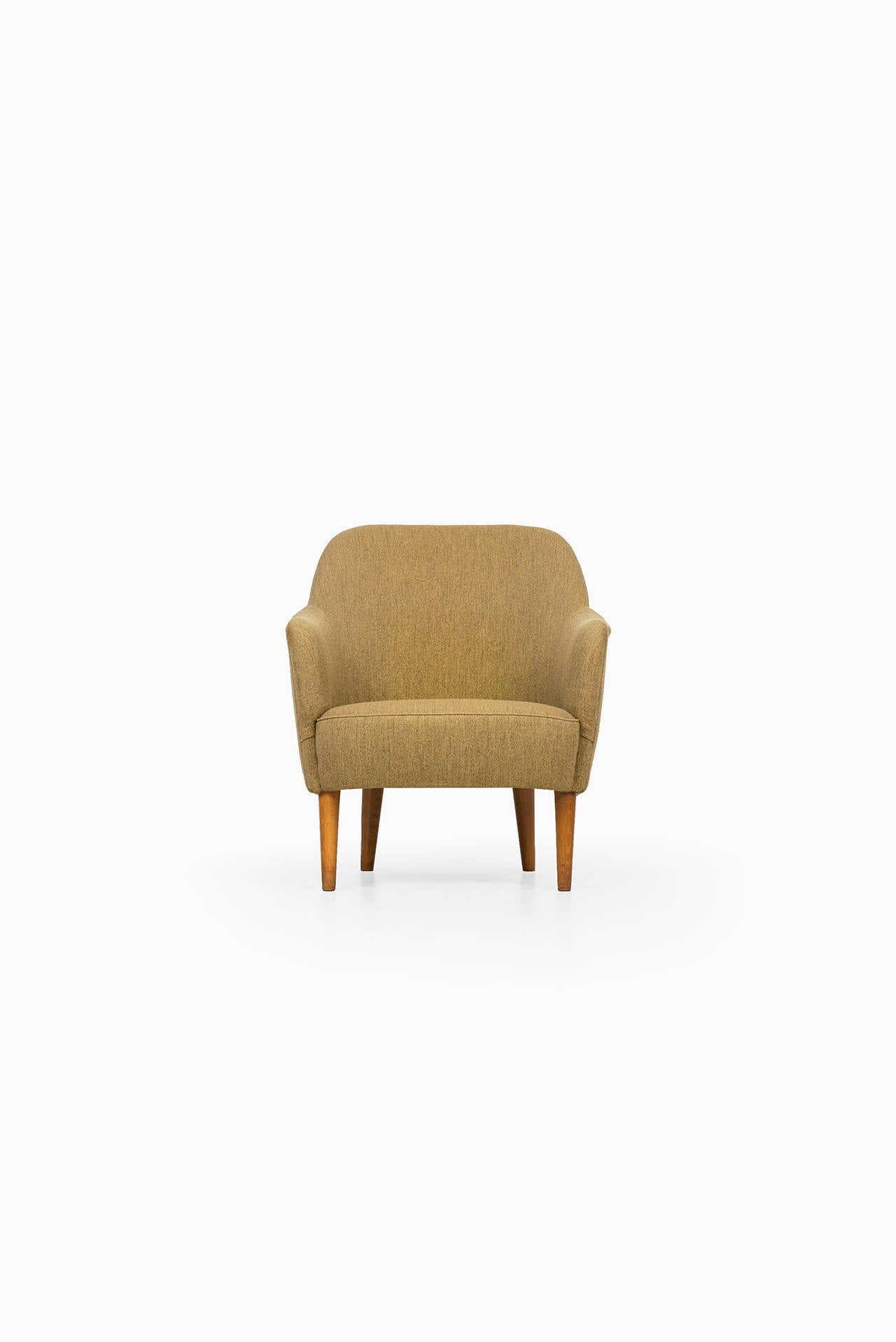 Carl Malmsten Samsas Easy Chair by O H SjöGren in Sweden For Sale