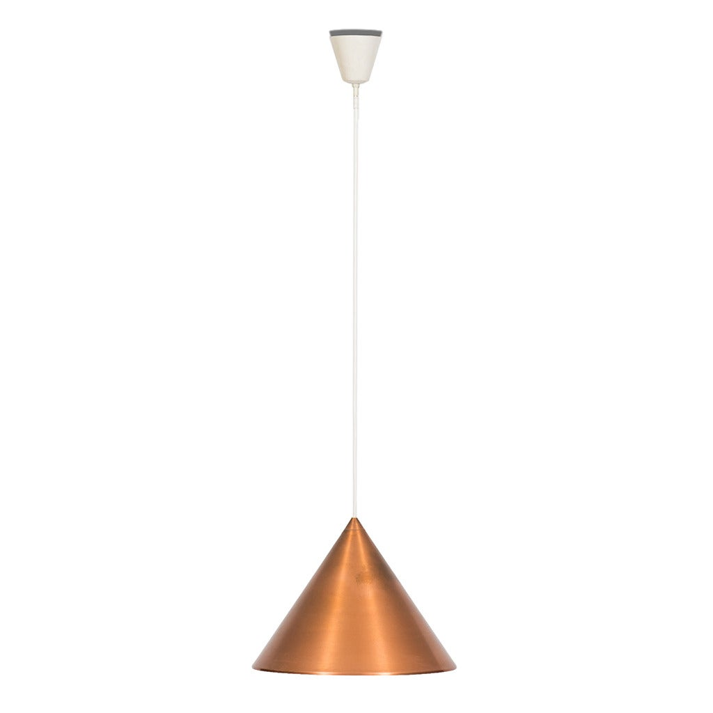 Mid century ceiling lamp in copper by lyfa in denmark for sale at mid century ceiling lamp in copper by lyfa in denmark for sale mozeypictures Choice Image