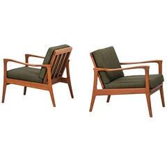Carl-Erik Johansson Böja Easy Chairs by Bejra Möbel, Sweden
