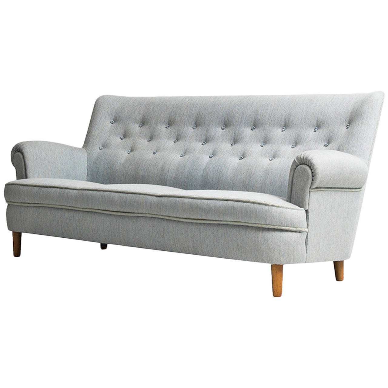 Carl malmsten hemmakv ll sofa by o h sj gren in sweden for sale at 1stdibs Carl malmsten sofa