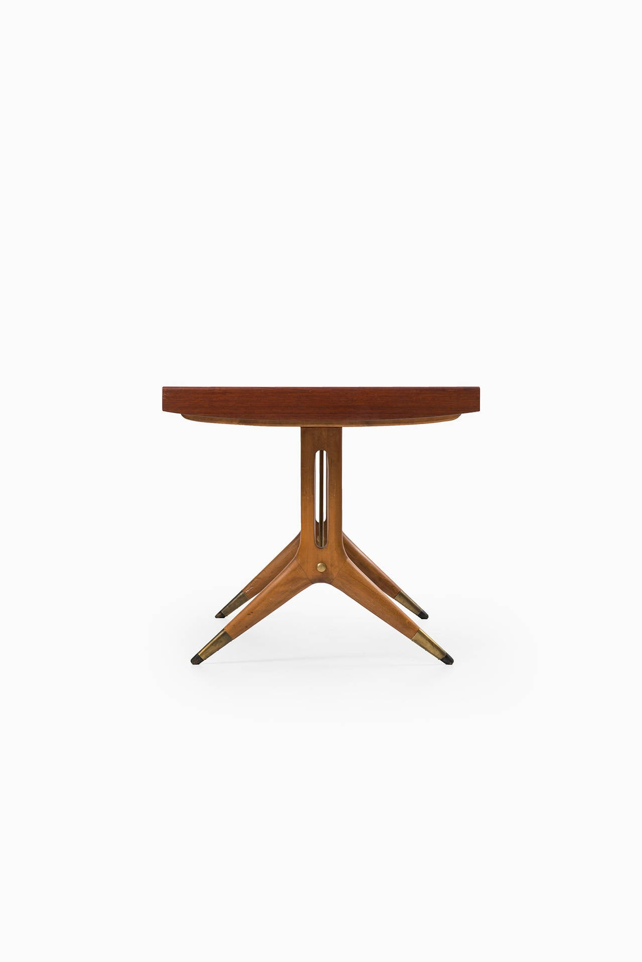 Mid Century Modern David Rosén Napoli Dining Table By Nordiska Kompaniet In Sweden For