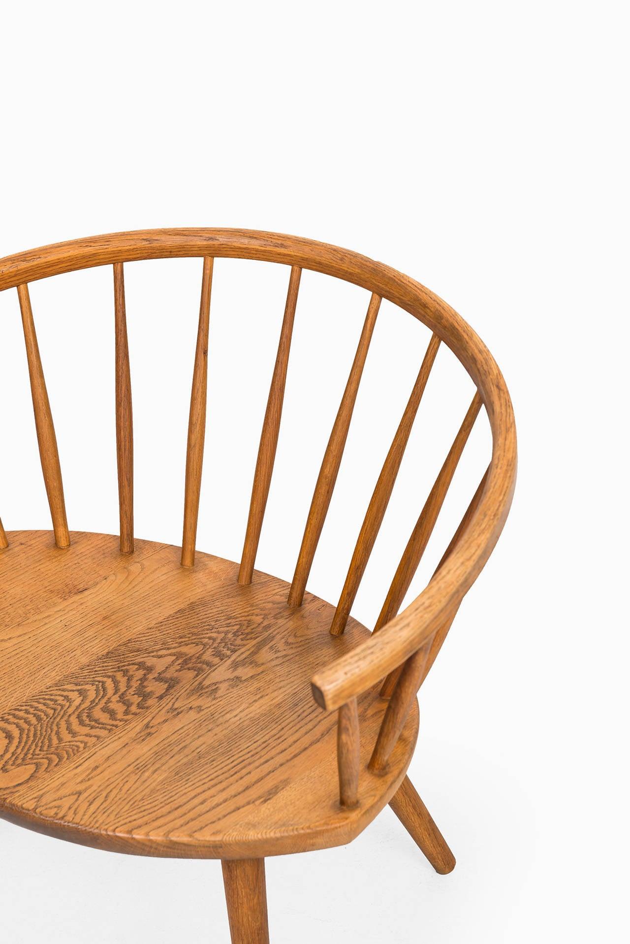 Yngve Ekström Easy Chair, Model Arka by Stolab in Sweden at 1stdibs