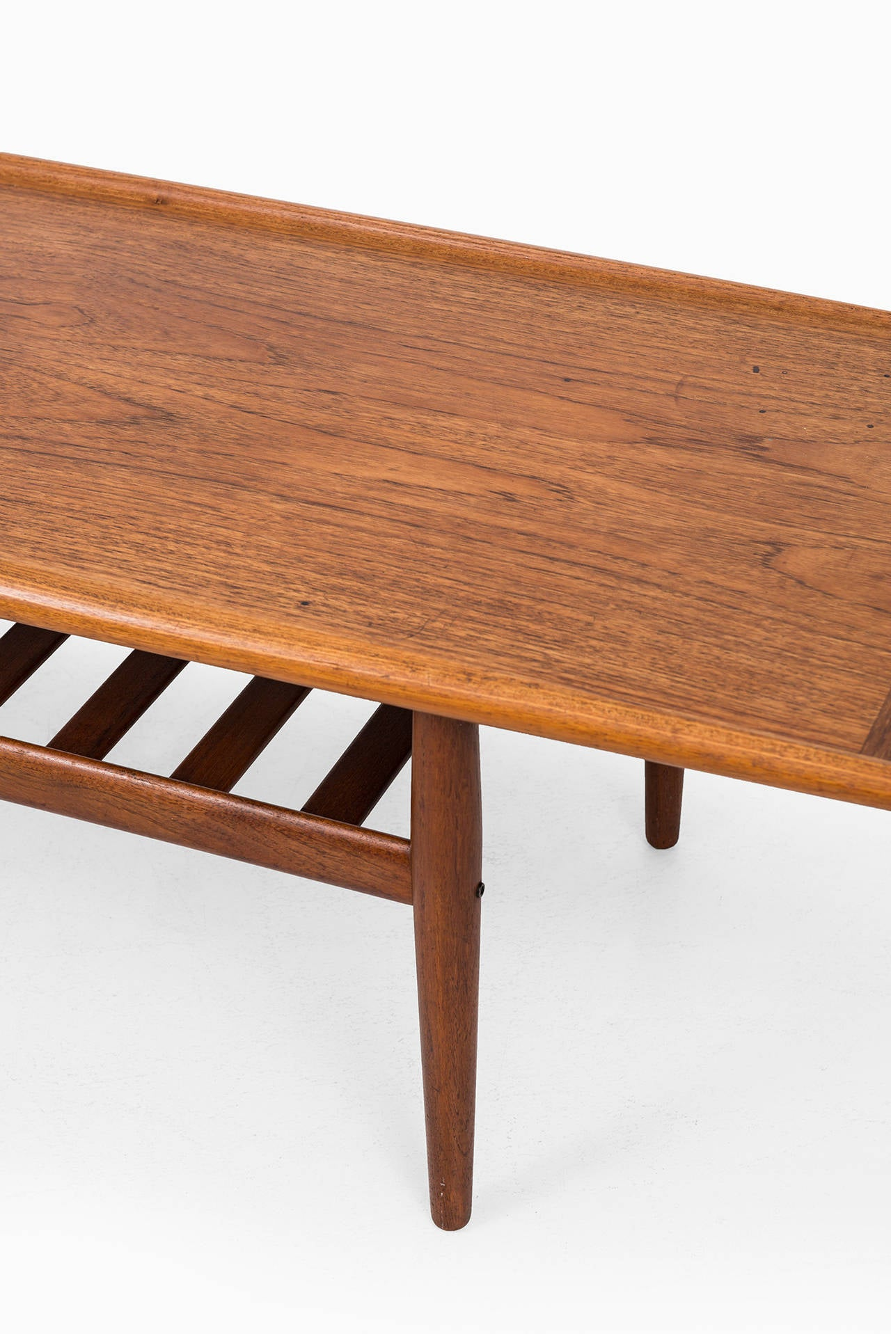 Mid-20th Century Grete Jalk Coffee Table in Teak by Glostrup Møbelfabrik in Denmark For Sale