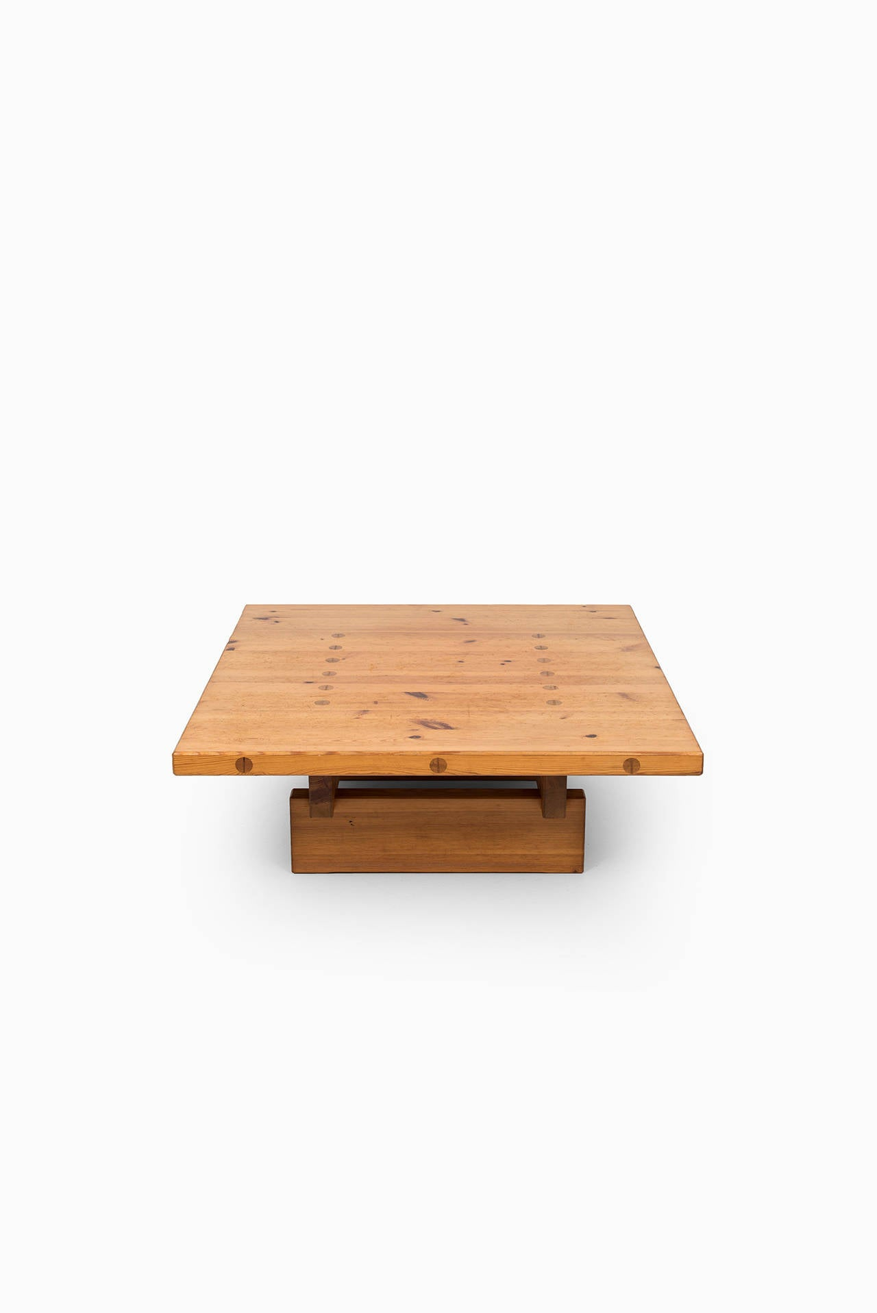 Roland Wiliamsson Coffee Table In Solid Pine At 1stdibs