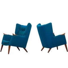 Kurt Østervig Easy Chairs by Rolschau Møbler in Denmark
