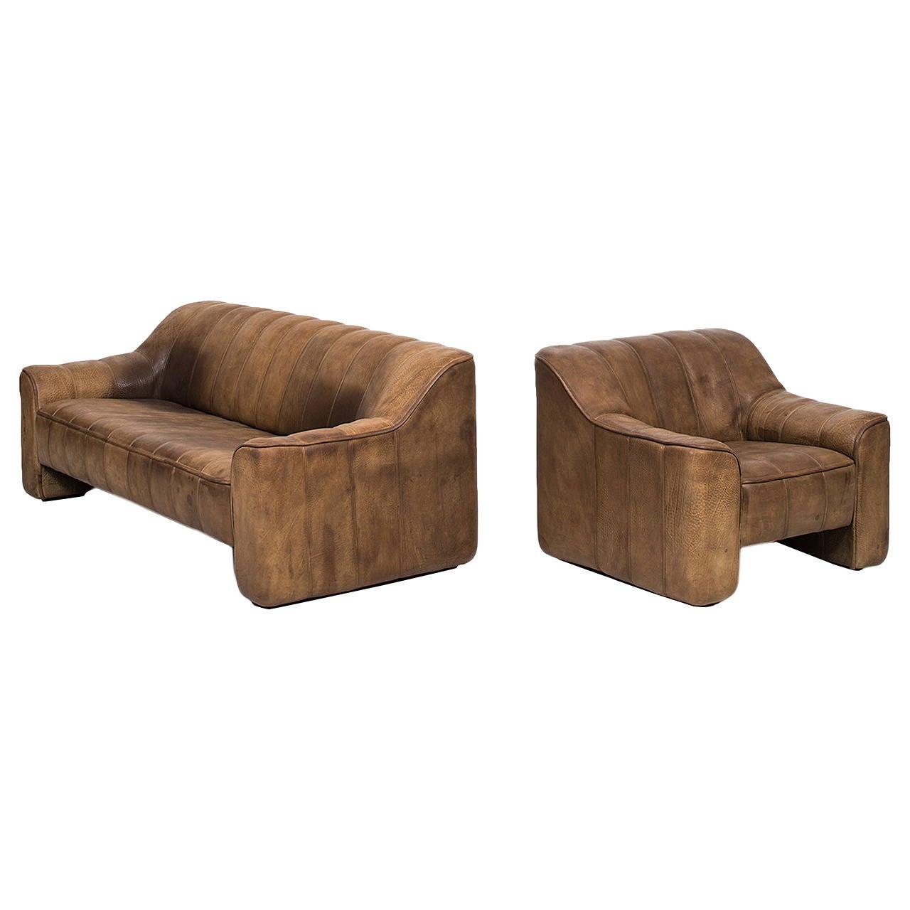 De Sede Sofa and Easy Chair Model DS-44 by De Sede in Switzerland
