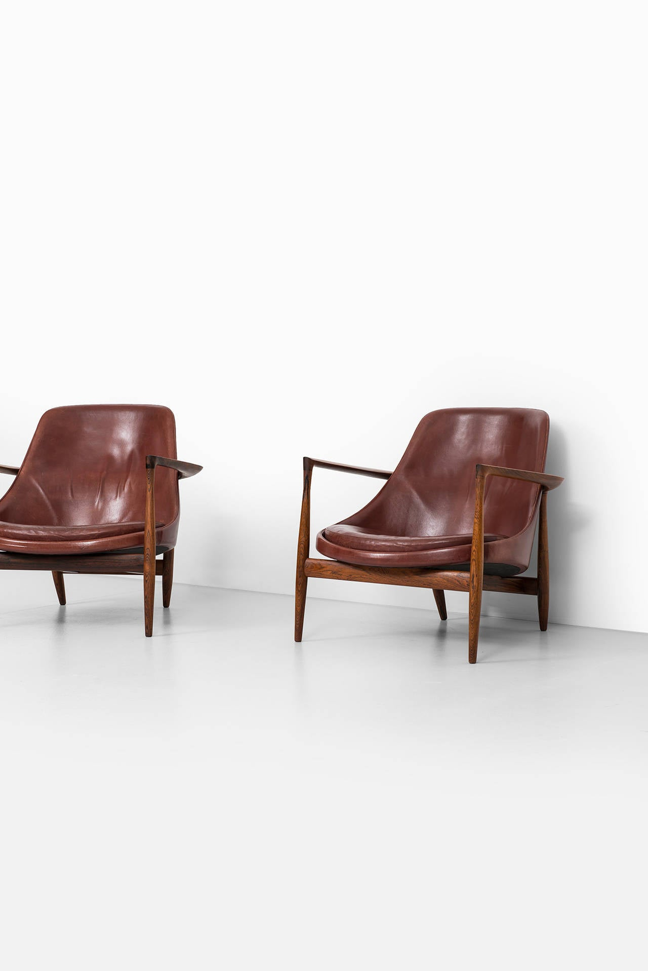 Ib Kofod-Larsen Elizabeth Easy Chairs by Christensen & Larsen in Denmark 3