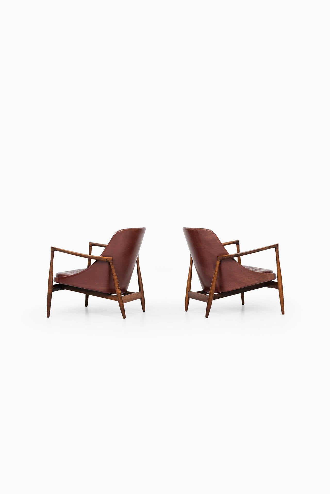 Ib Kofod-Larsen Elizabeth Easy Chairs by Christensen & Larsen in Denmark 4