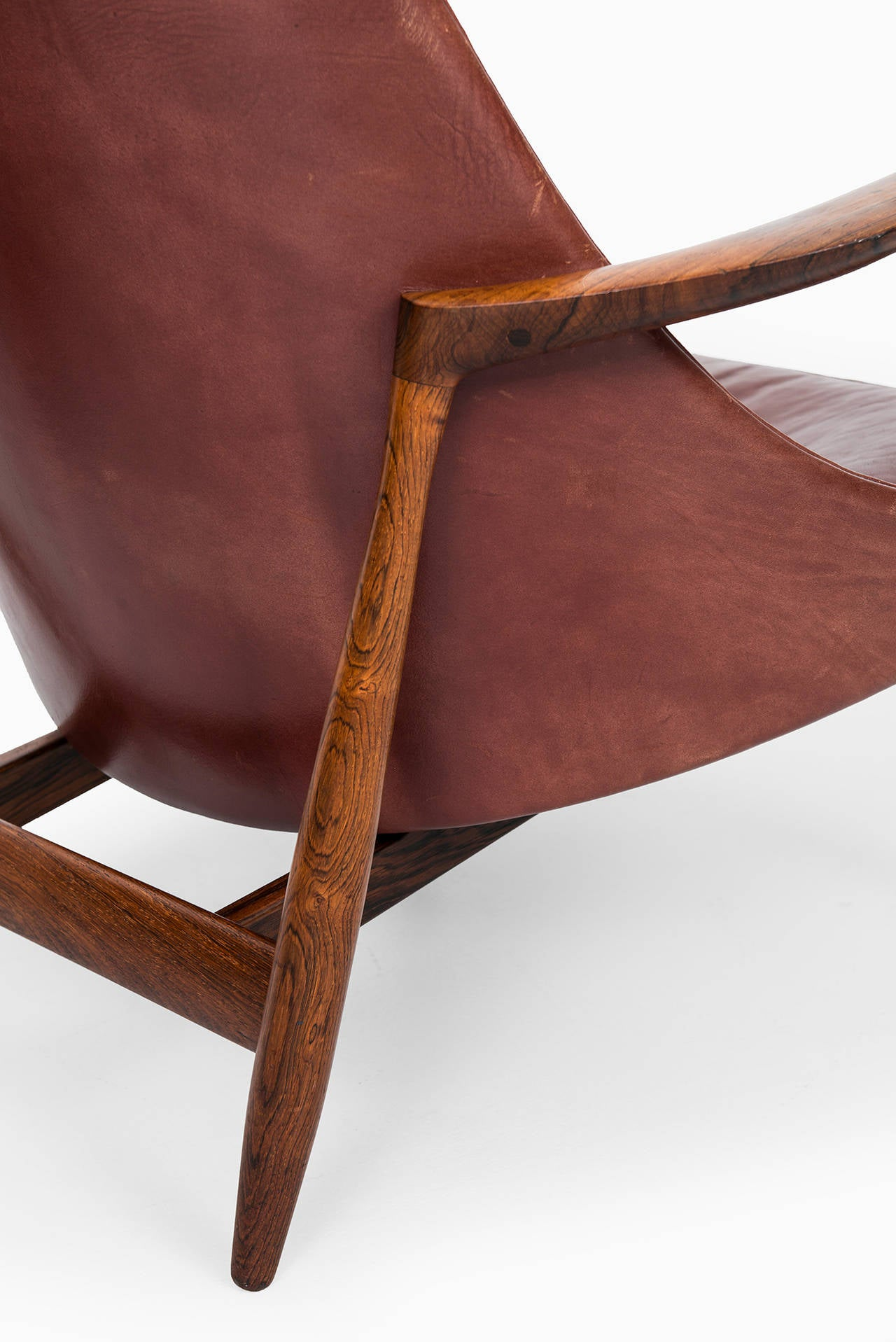 Ib Kofod-Larsen Elizabeth Easy Chairs by Christensen & Larsen in Denmark 6