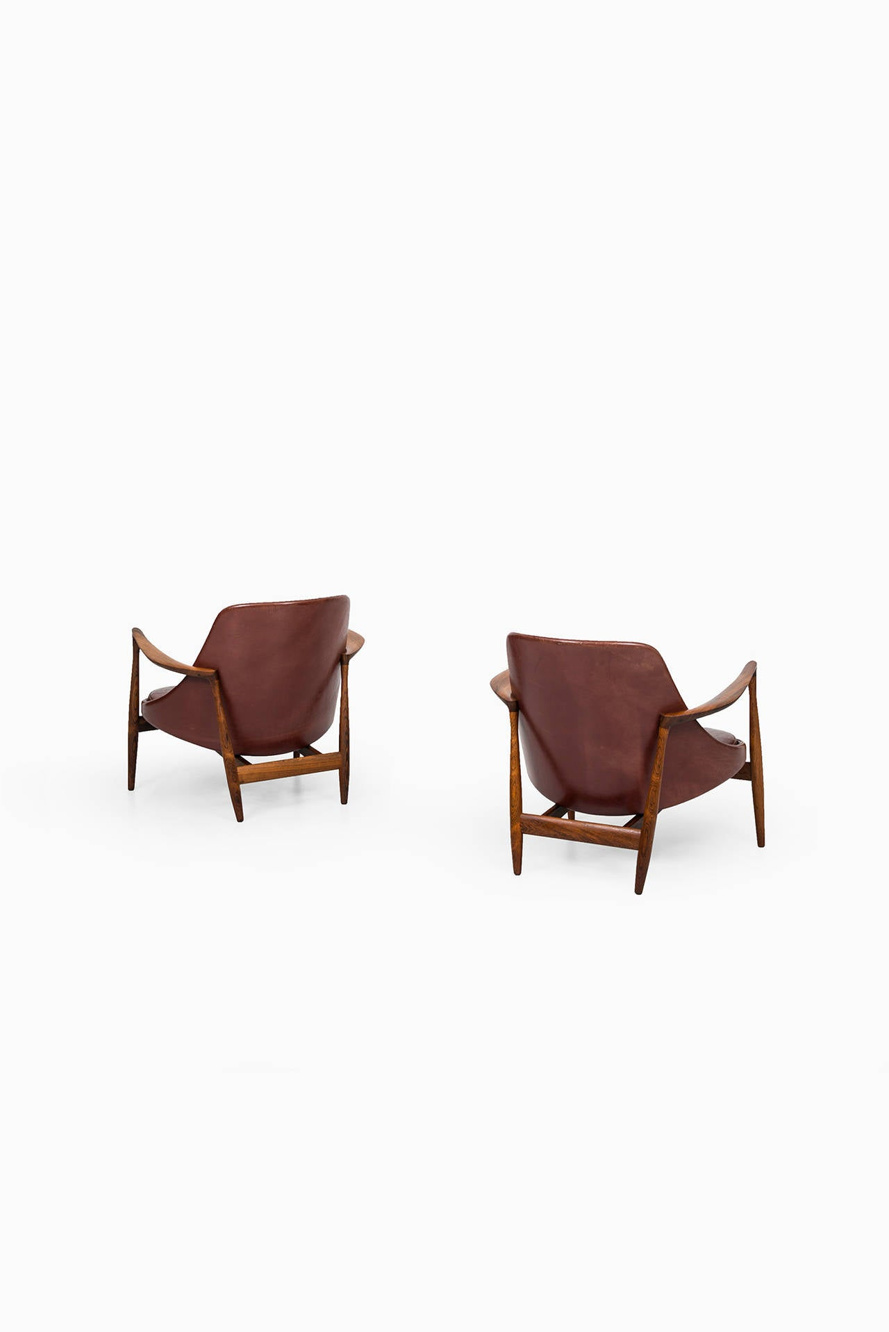 Ib Kofod-Larsen Elizabeth Easy Chairs by Christensen & Larsen in Denmark 9