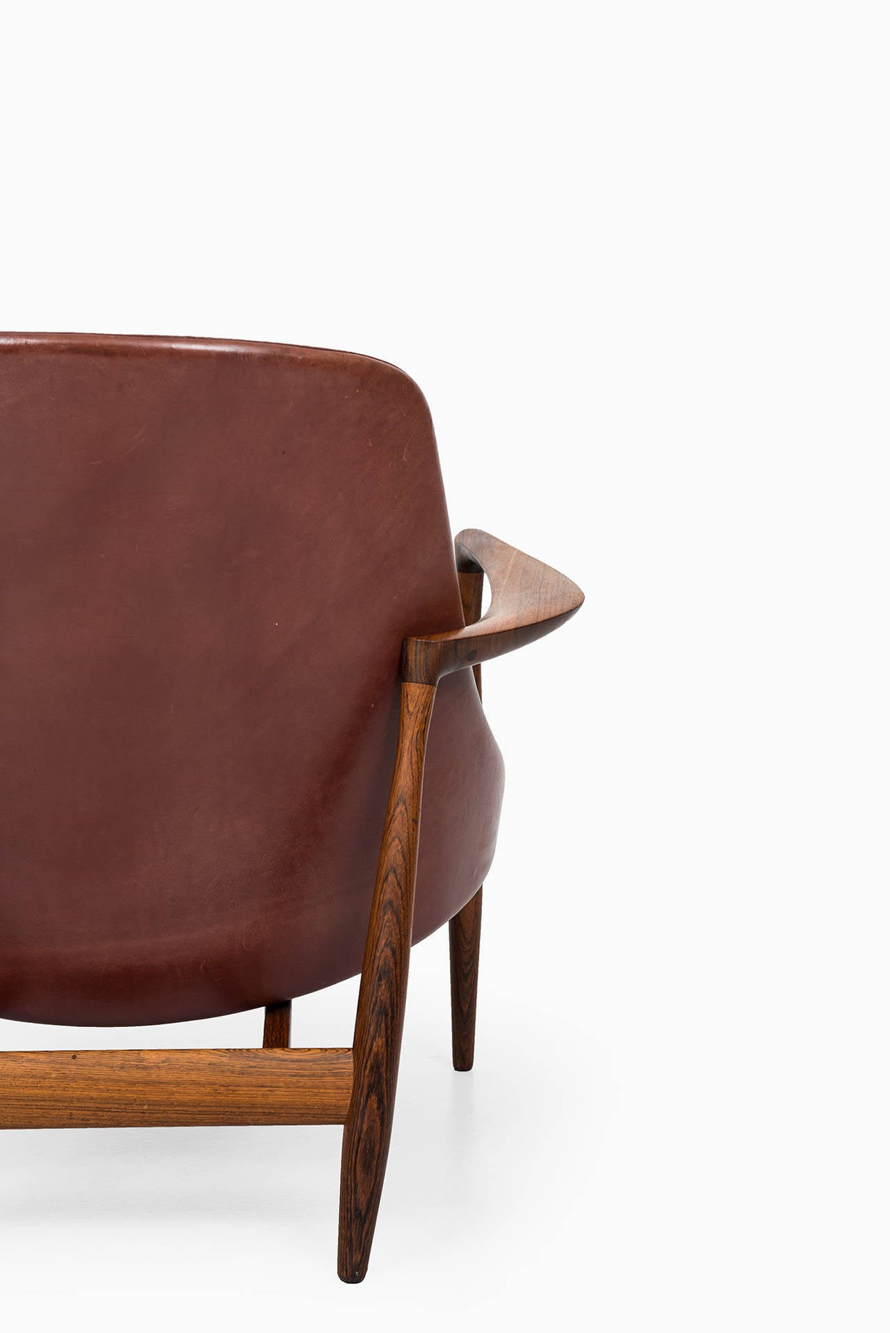 Ib Kofod-Larsen Elizabeth Easy Chairs by Christensen & Larsen in Denmark 7