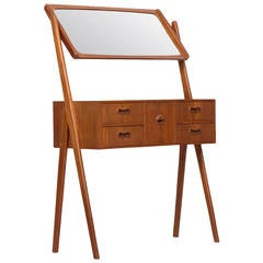 Teak Vanity in the Manner of Arne Wahl-Iversen
