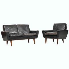 Georg Thams Sofa and Easy Chairs by Vejen Polstermøbelfabrik, Denmark