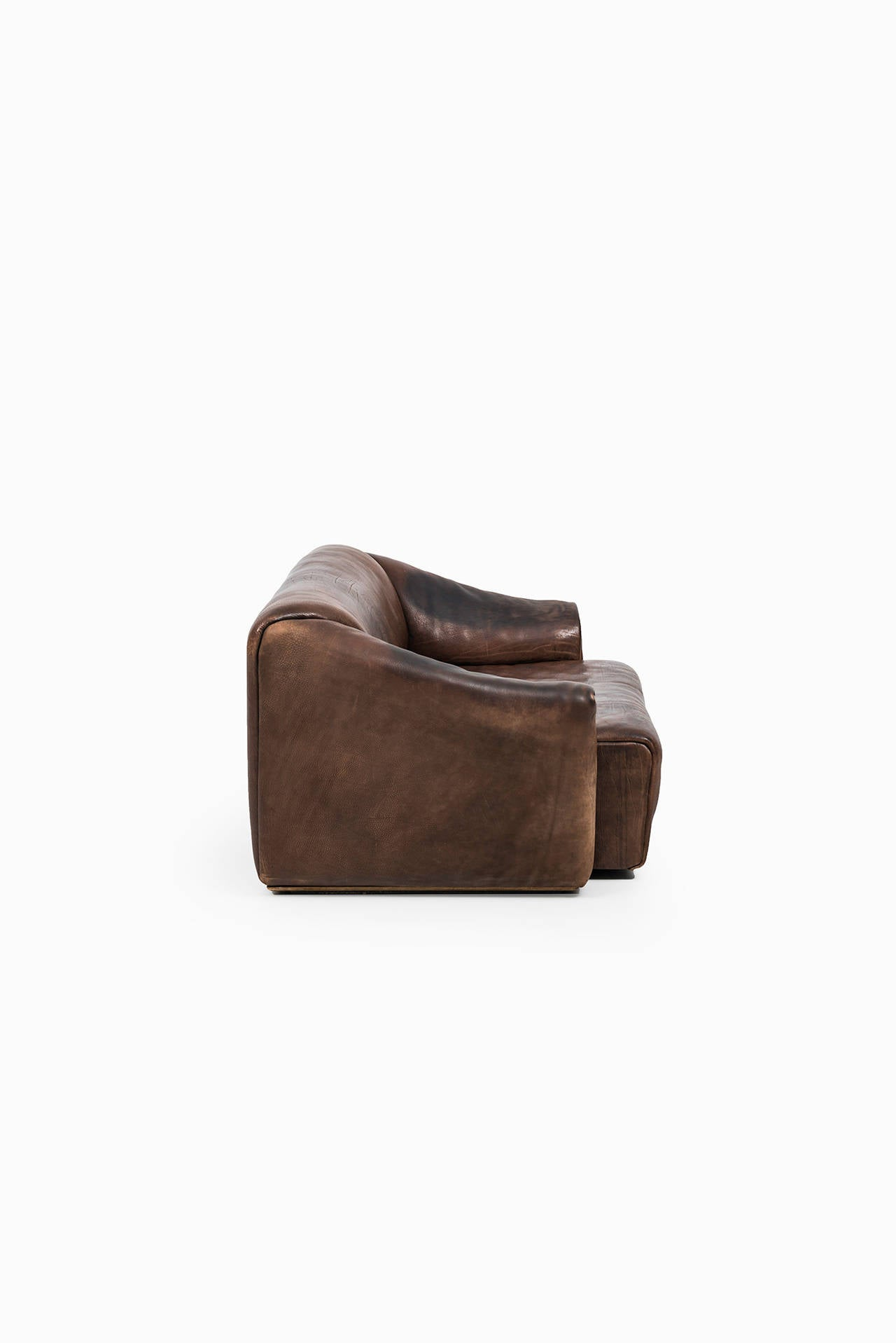 Leather De Sede Sofa and Easy Chair Model DS-47 by De Sede in Switzerland For Sale