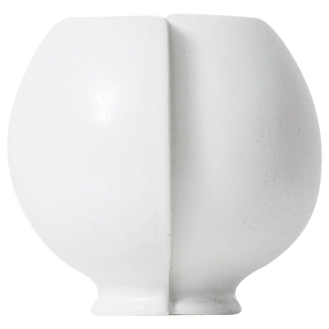 Wilhelm Kåge Ceramic Vase Model Surrea by Gustavsberg in Sweden