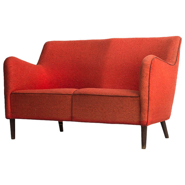 Loveseat Sofa in the Manner of Finn Juhl, Denmark
