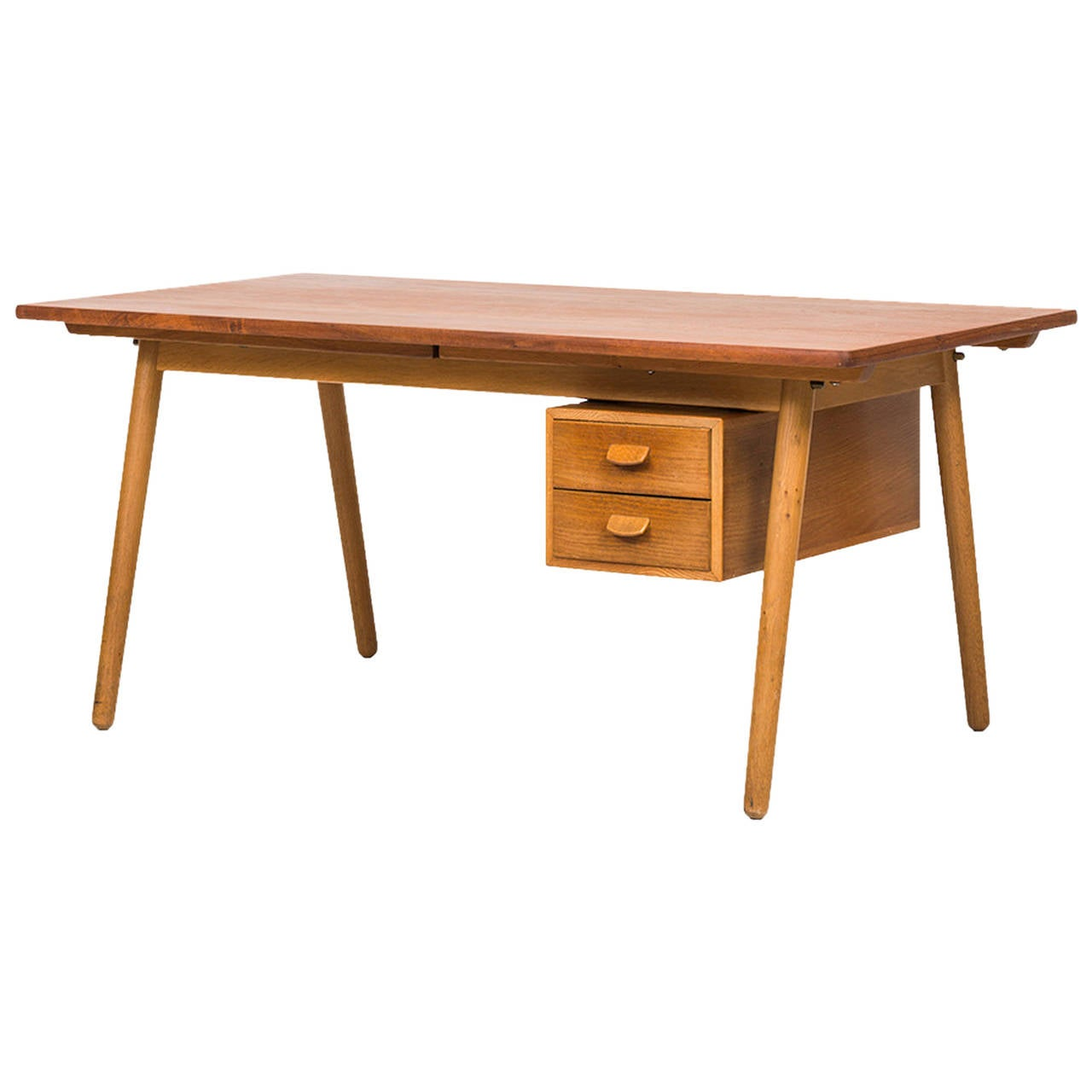 Poul Volther Desk/Dining Table by FDB Møbler in Denmark