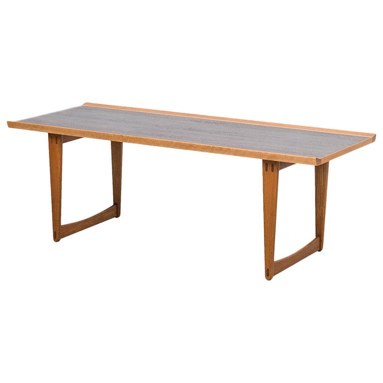 Yngve Ekström Coffee Table Produced by Westbergs In Sweden