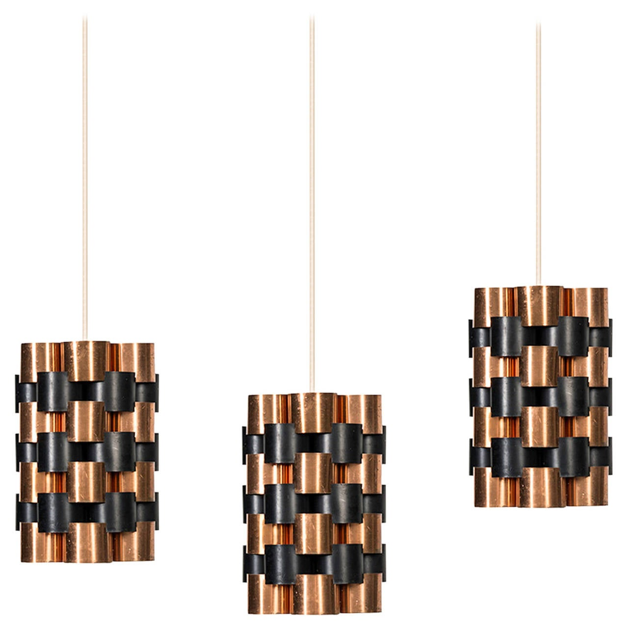Jo Hammerborg Ceiling Lamps by Fog & Mørup in Denmark For Sale