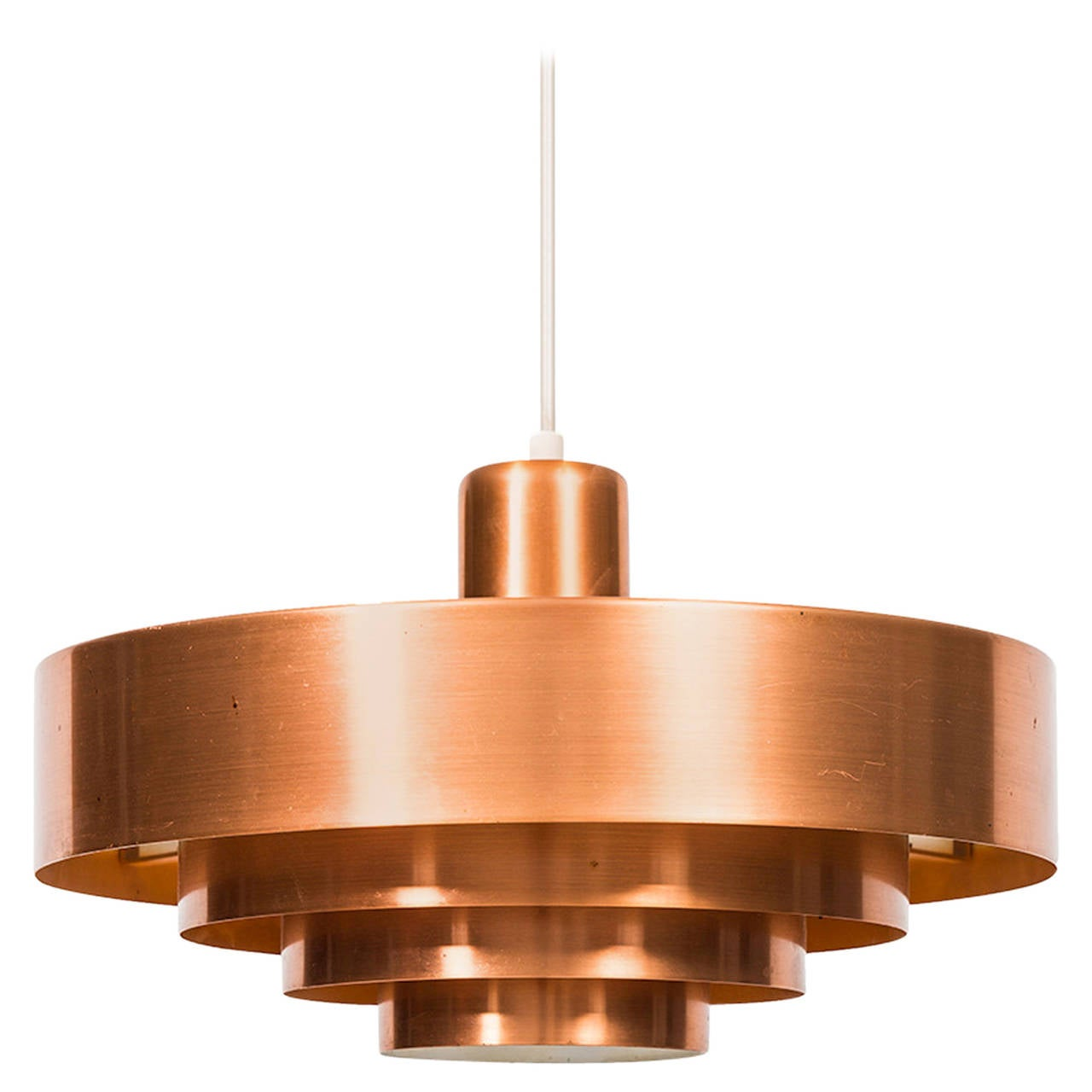 Jo Hammerborg Ceiling Lamp Model Roulet by Fog & Mørup in Denmark