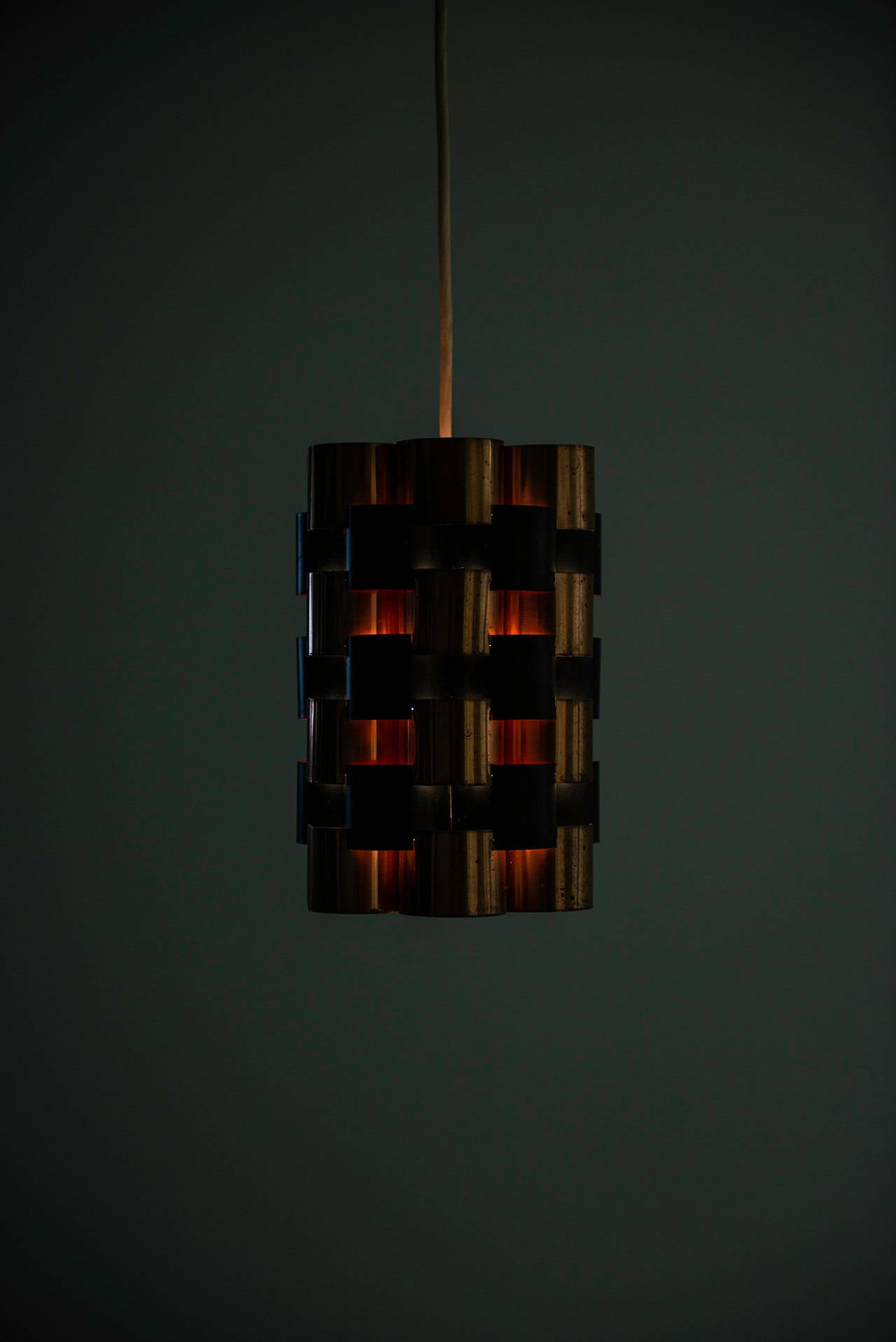 Copper Jo Hammerborg Ceiling Lamps by Fog & Mørup in Denmark For Sale