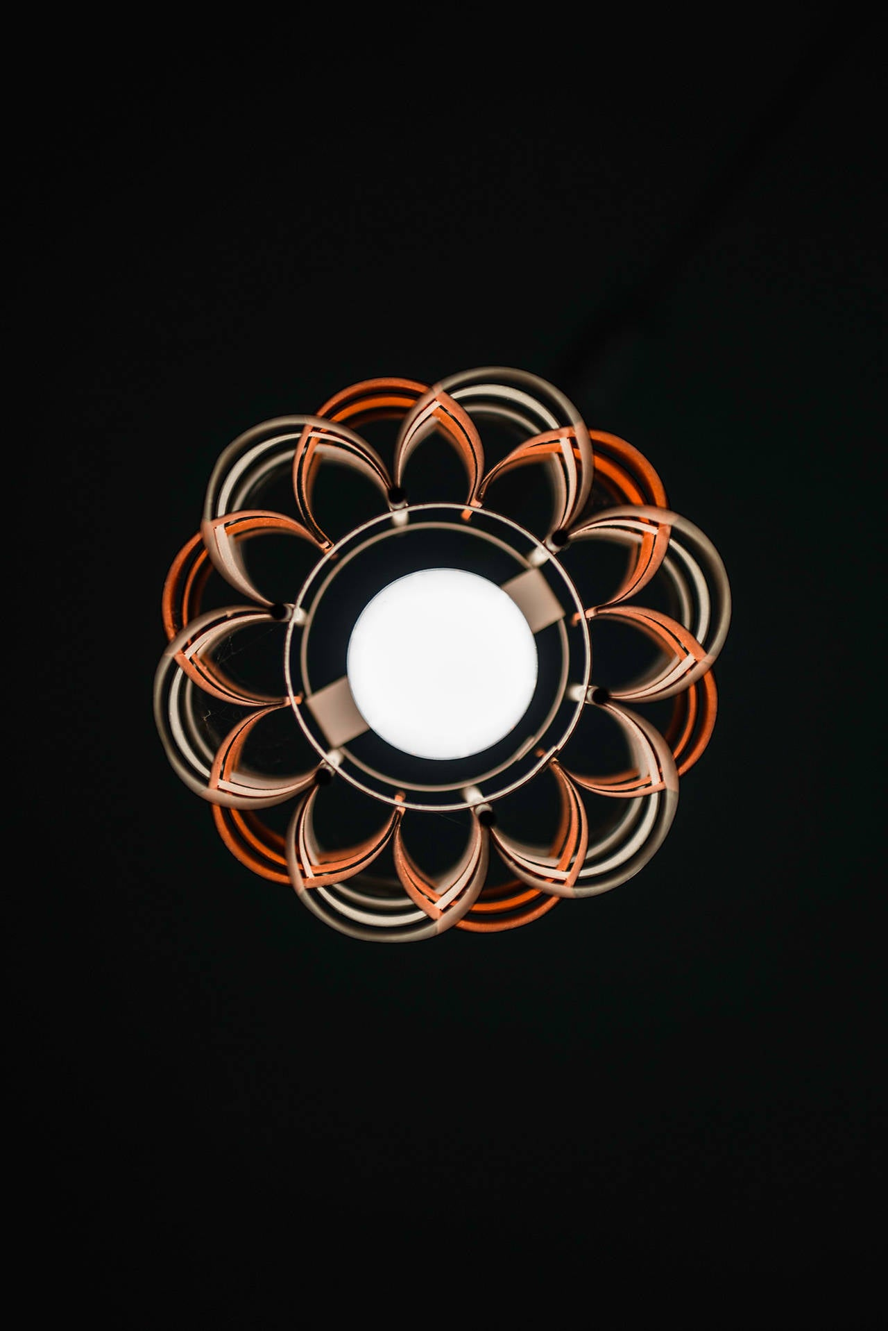 Danish Jo Hammerborg Ceiling Lamps by Fog & Mørup in Denmark For Sale