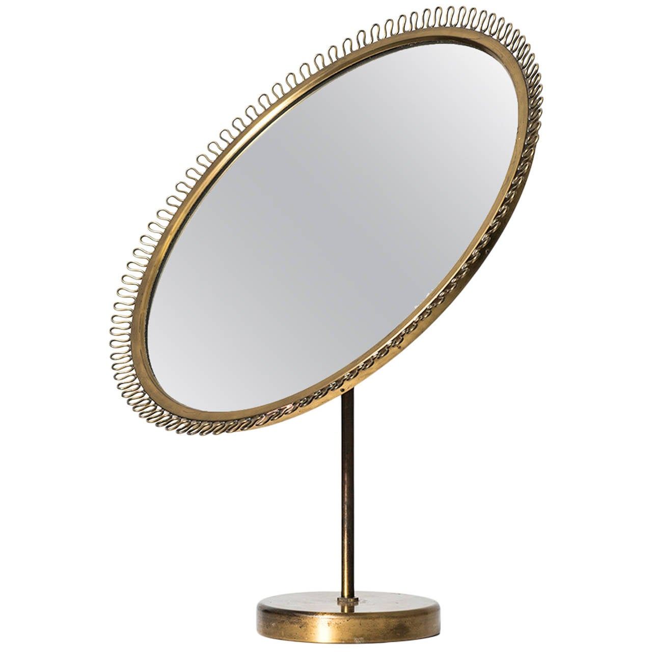 Josef Frank Table Mirror Produced by Svenskt Tenn in Sweden