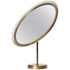 Josef Frank Table Mirror Produced by Svenskt Tenn in Sweden