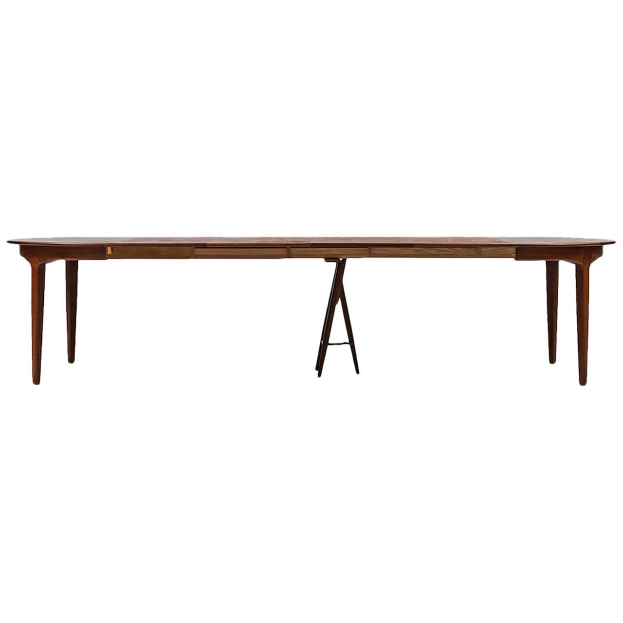 Henning Kjærnulf Dining Table Model 62 by Sorø Stolefabrik in Denmark