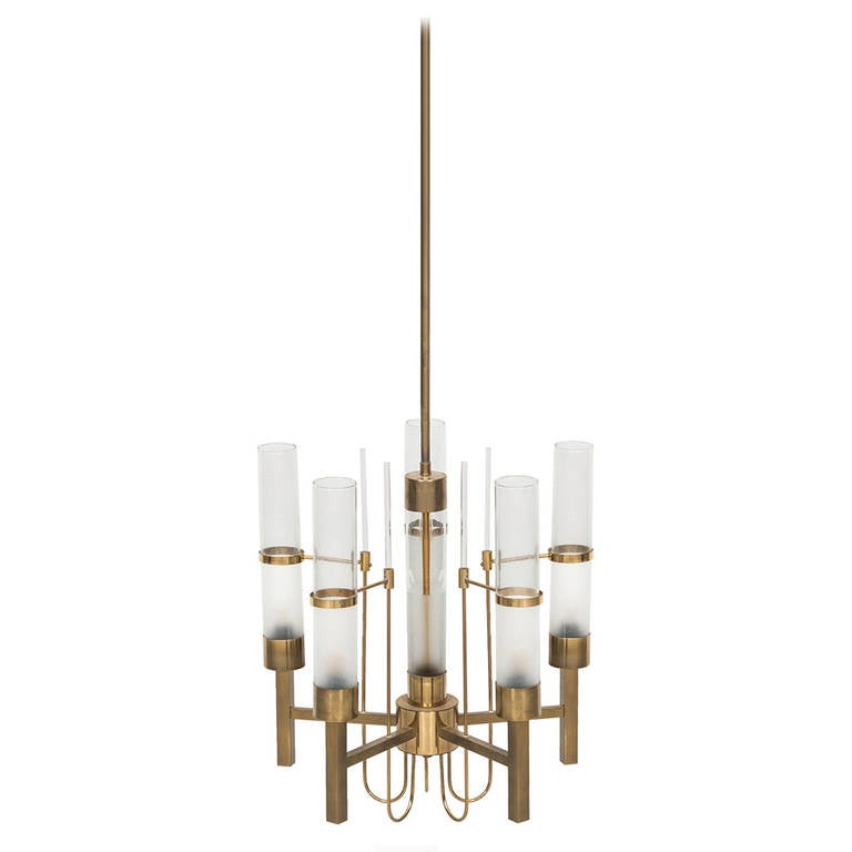 Gaetano Sciolari Ceiling Lamp Produced by Sciolari in Italy For Sale