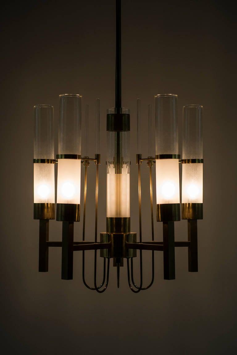 Gaetano Sciolari Ceiling Lamp Produced by Sciolari in Italy In Excellent Condition For Sale In Malmo, SE