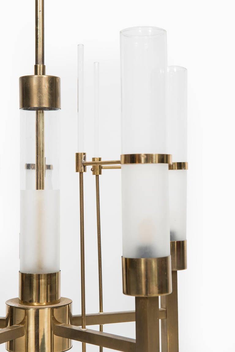 Italian Gaetano Sciolari Ceiling Lamp Produced by Sciolari in Italy For Sale